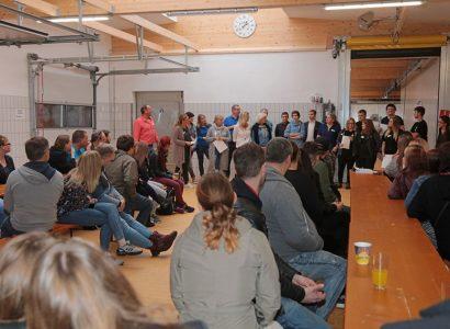 Balzer begrüßt 29 neue Auszubildende